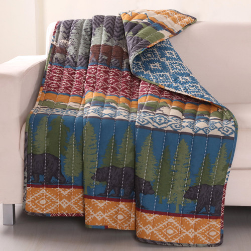 Bear Thicket Throw