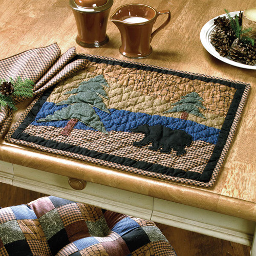 Bear Trail Placemat