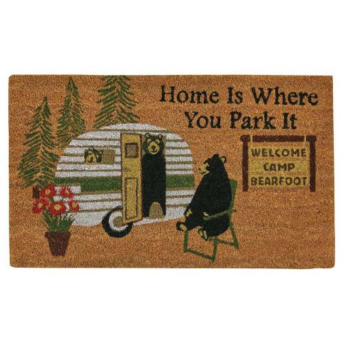 Bear Trailer Trip Doormat