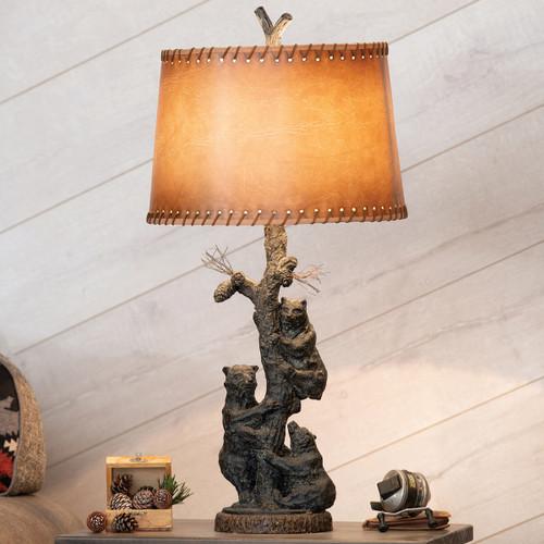 Bear Tree Table Lamp