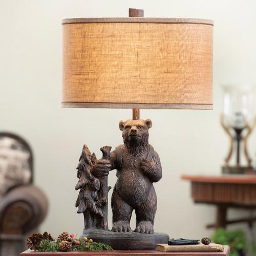Bear Trek Table Lamp