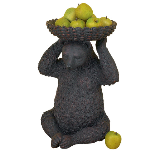 Bear with Basket on Head