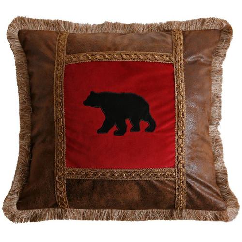 Bear Pane Pillow
