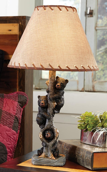 Bears in a Tree Table Lamp