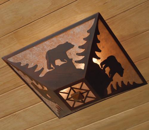 Bear Drop Ceiling Mount Light