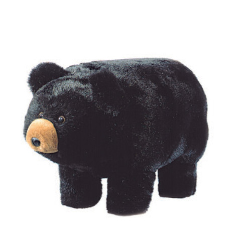 Benny the Black Bear Footstool - OUT OF STOCK UNTIL 10/28/2021