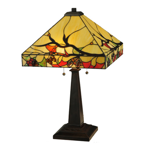 Berry Branches Table Lamp