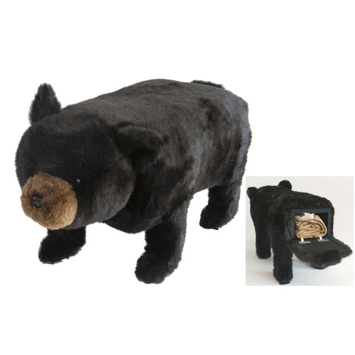 Bertie the Bear Footstool with Storage - BACKORDERED UNTIL 10/29/2021
