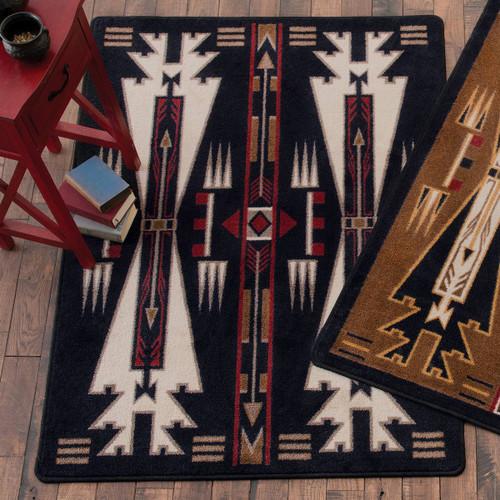 Horse Blanket Black Rug Collection