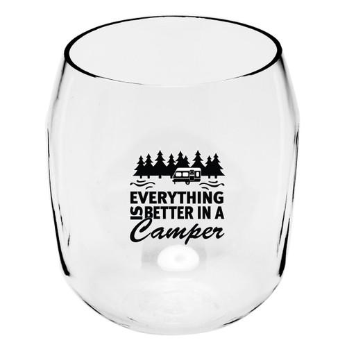 Better in a Camper Wine Tumblers - Set of 4