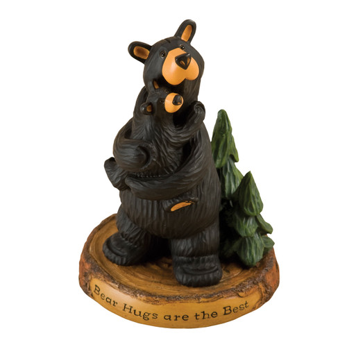 Big Bear & Baby Bear Hug Figurine