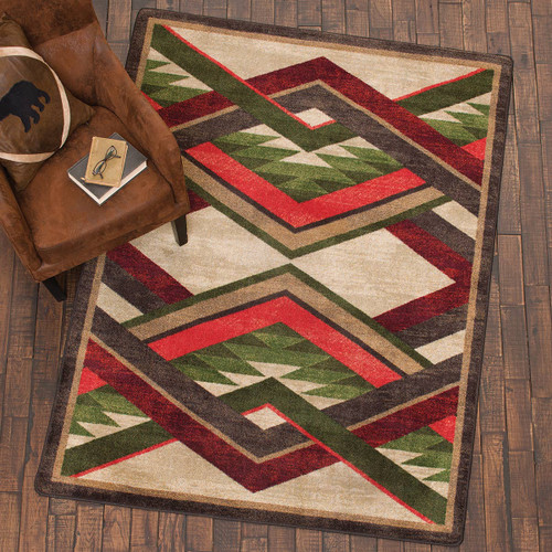 Infinite Gulch Natural Rug Collection