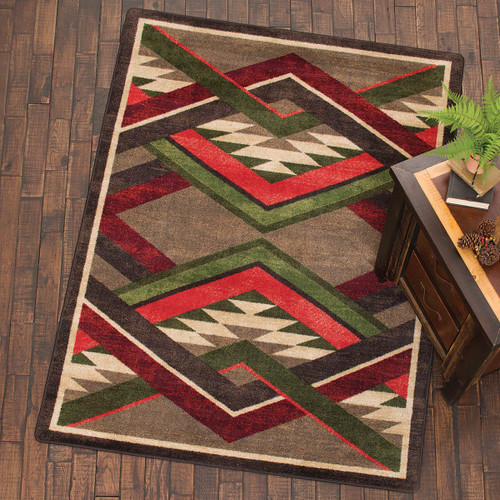 Infinite Gulch Tobacco Rug Collection