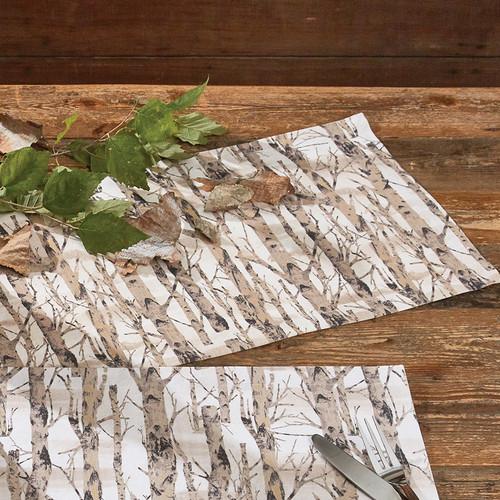 Birch Trees Table Runner - 13 x 36