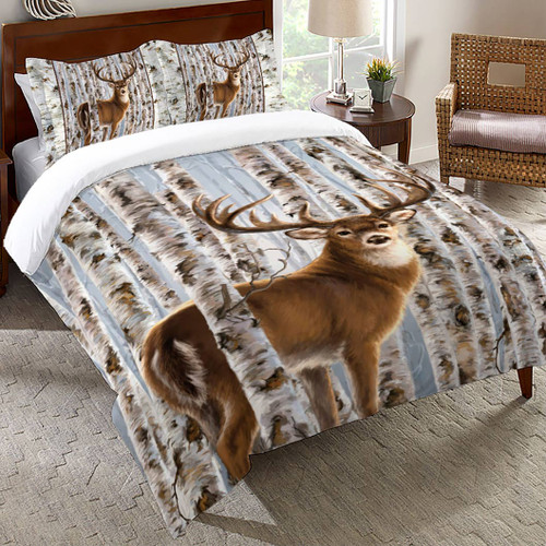 Birchwood Buck Comforter - Queen