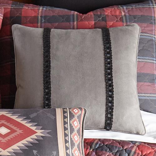 Bismarck Gray Pillow