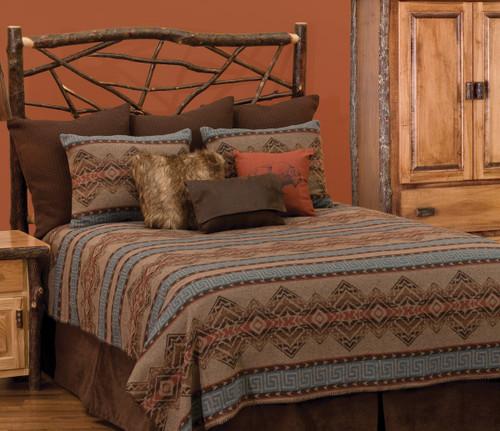 Bison Ridge II Bedspread - Super Queen - OVERSTOCK