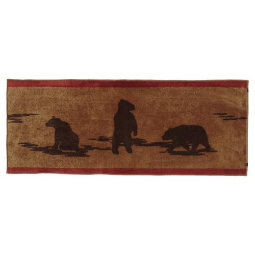 Bear Bath Runner