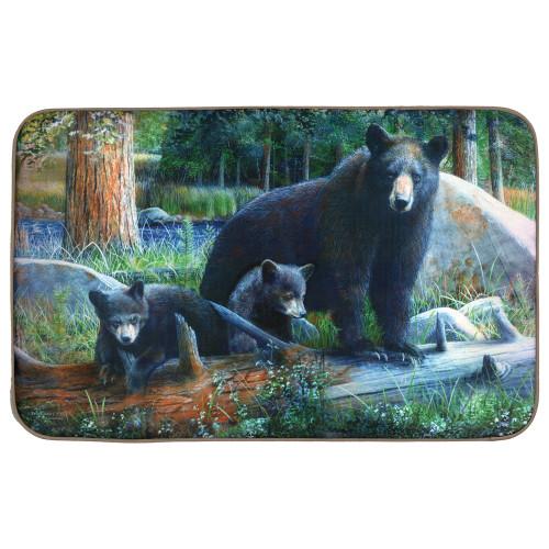 Black Bear Comfort Floor Mat