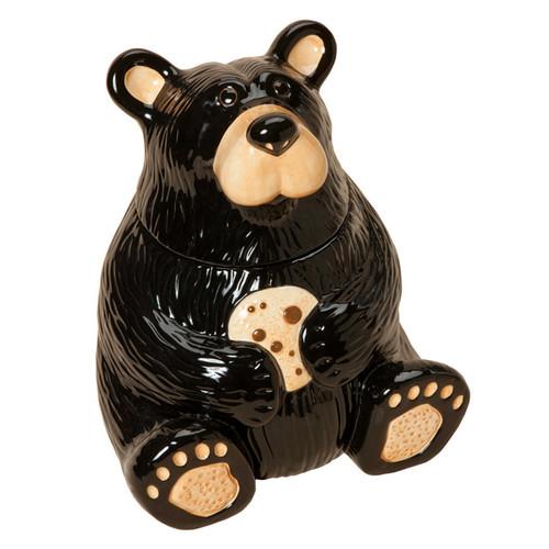 Black Bear Cookie Jar - BACKORDERED UNTIL 11/12/2021