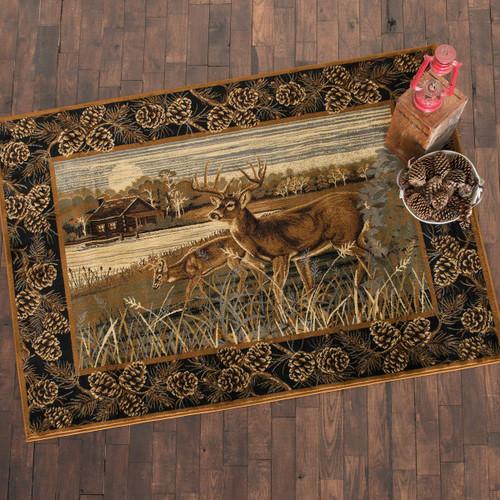 Lakeside Deer Rug Collection