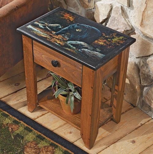 Black Bear Creek Side Table