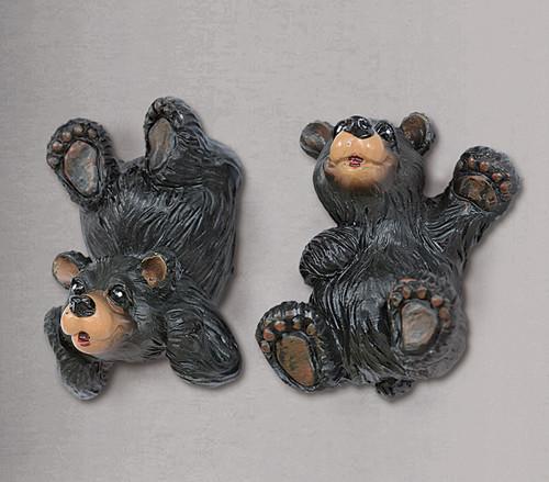Black Bear Cub Magnets - Set of 2