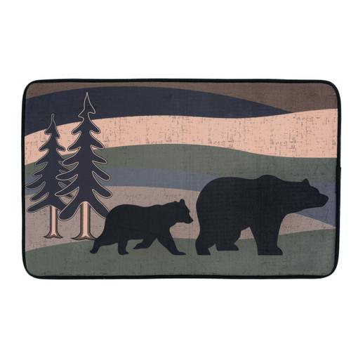 Black Bear Hills Bath Mat