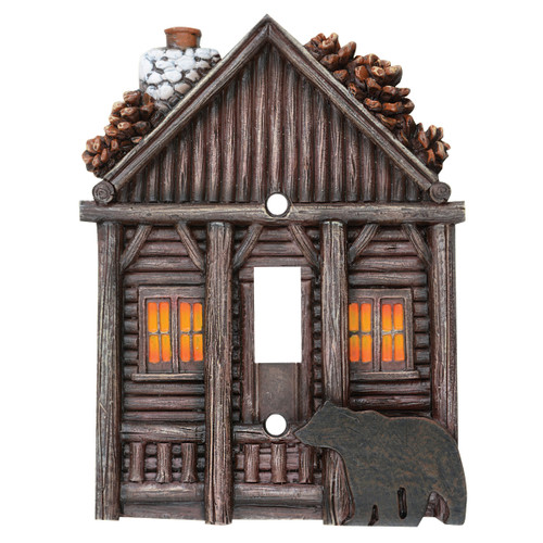 Log Cabin Switch Covers