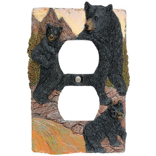 Black Bear Mountain Outlet Cover
