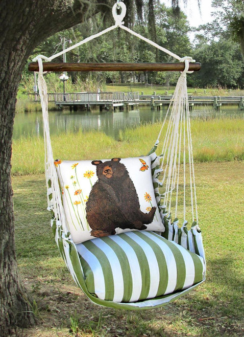 Black Bear Pillow Swing
