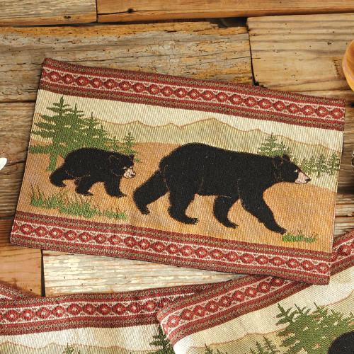 Black Bear Placemat