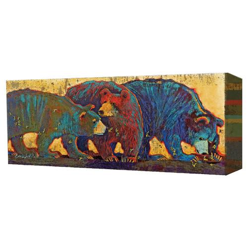 Black Bear Sting Wall Art