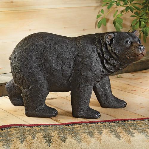 Black Bear Stroll Sculpture