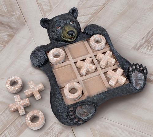 Black Bear Tic-Tac -Toe