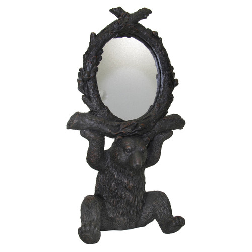 Black Forest Bear with Mirror