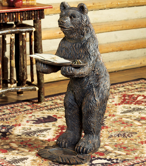 Black Forest Bear with Tray