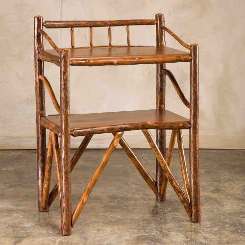 Black Forest Hickory Amenities Table