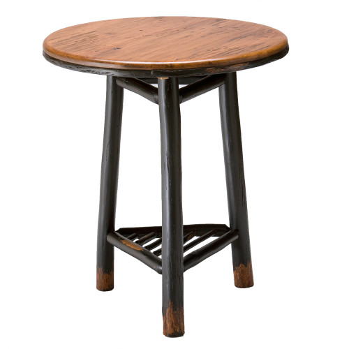 Black Forest Hickory Belaire Side Table