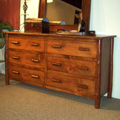 Black Forest Hickory Berea Six Drawer Chest