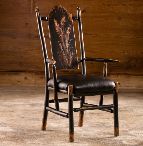 Black Forest Hickory Cherry Branch Arm Chair
