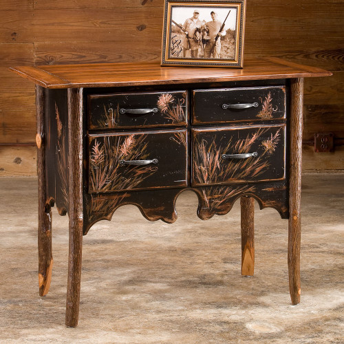 Black Forest Hickory Cherry Branch Lowboy Chest