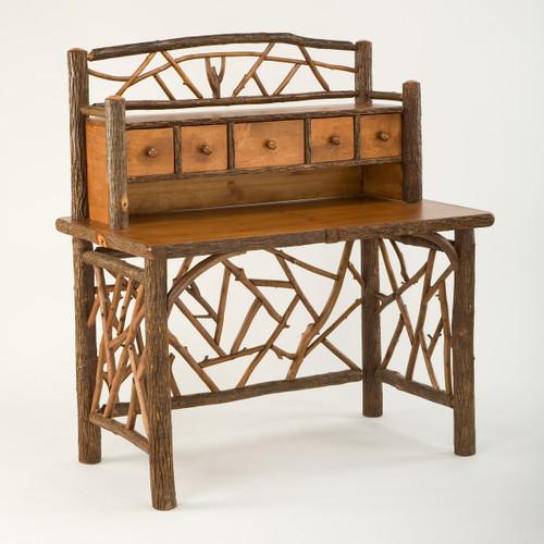 Black Forest Hickory Woodsman Desk