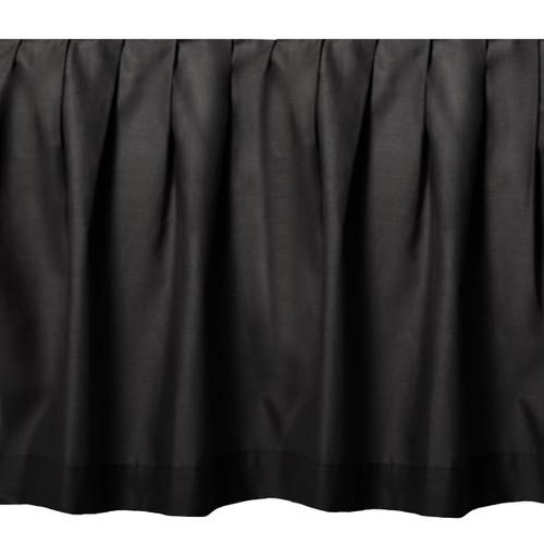 Black Night Gathered Bedskirt - King