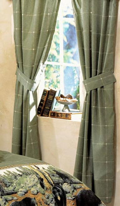 The Bears Rod Pocket Curtains - OUT OF STOCK