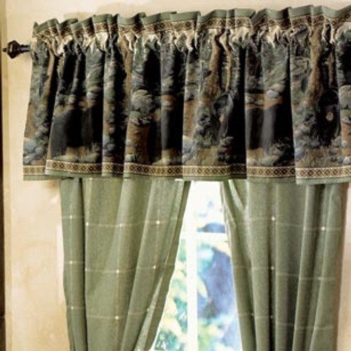 The Bears Valance  - OUT OF STOCK