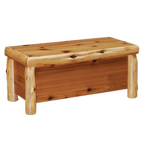 Log Blanket Chest
