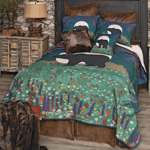 Moonrise Bear Quilt Bedding Collection