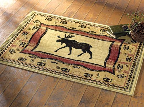 Moose Walk Rug Collection