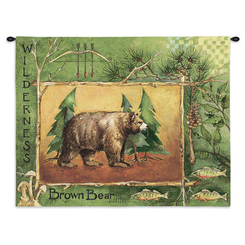 Brown Bear Wall Tapestry